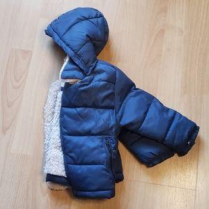 Zara BabyBoy Puffer Fleeced Lined Jacket